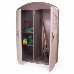 Outdoor Plastic Storage Cabinets With Doors