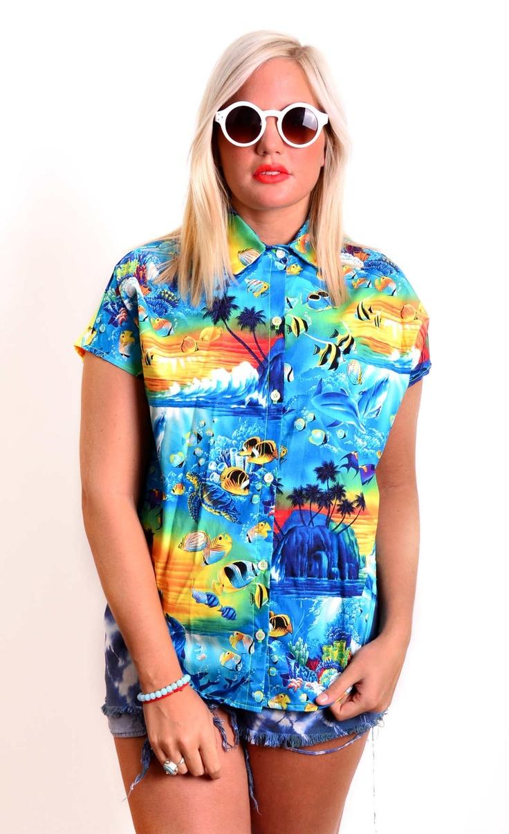 Banana Wednesdays Full Paradise shirt