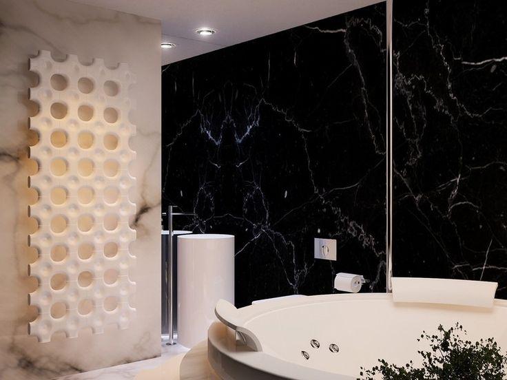 wohnzimmer wohnideen mit schwarzen marmorfliesen - Marmorboden Wohnzimmer