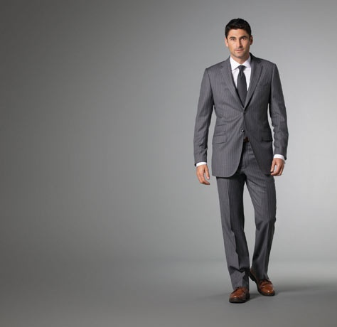 Mid Grey Suit - Lxmsuite