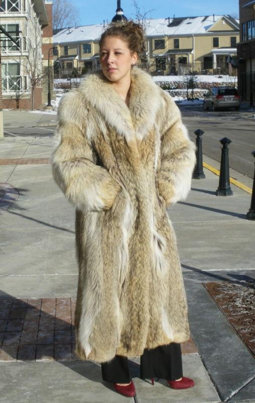 142 best Coyote Fur images on Pinterest | Fur coats, Furs and Fox fur
