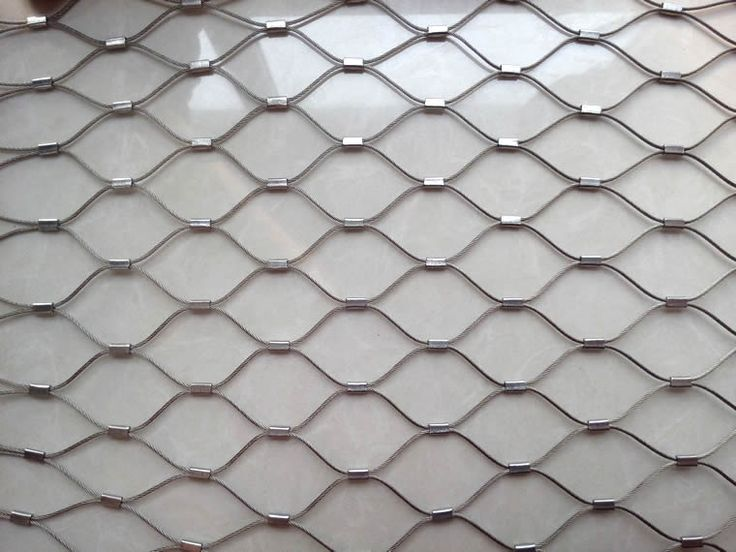 46 best stainless steel rope mesh images on Pinterest | Fishnet ...