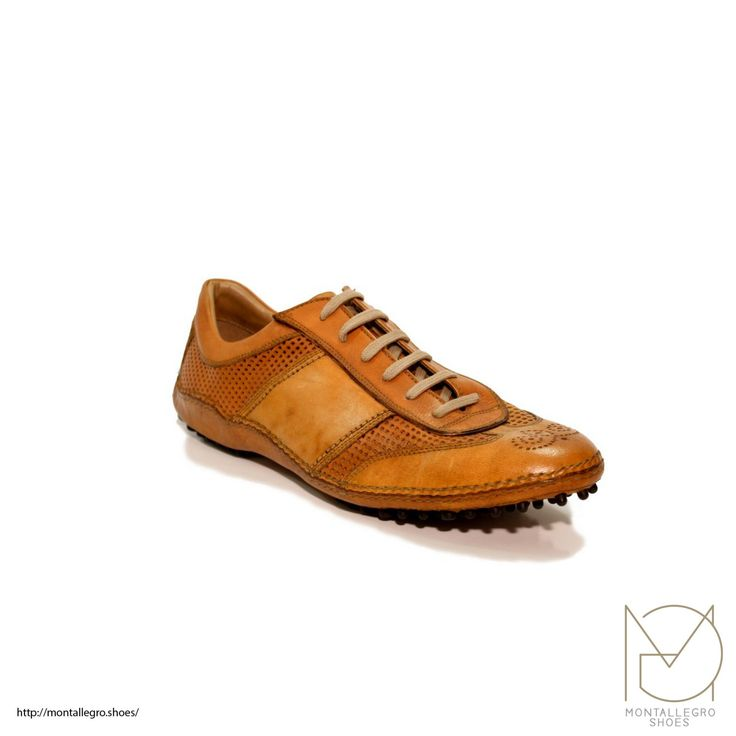 30% OFF - Check Facebook Page for Code - Padova Golf - Handmade Leather man shoes di MontallegroShoes su Etsy #shoes