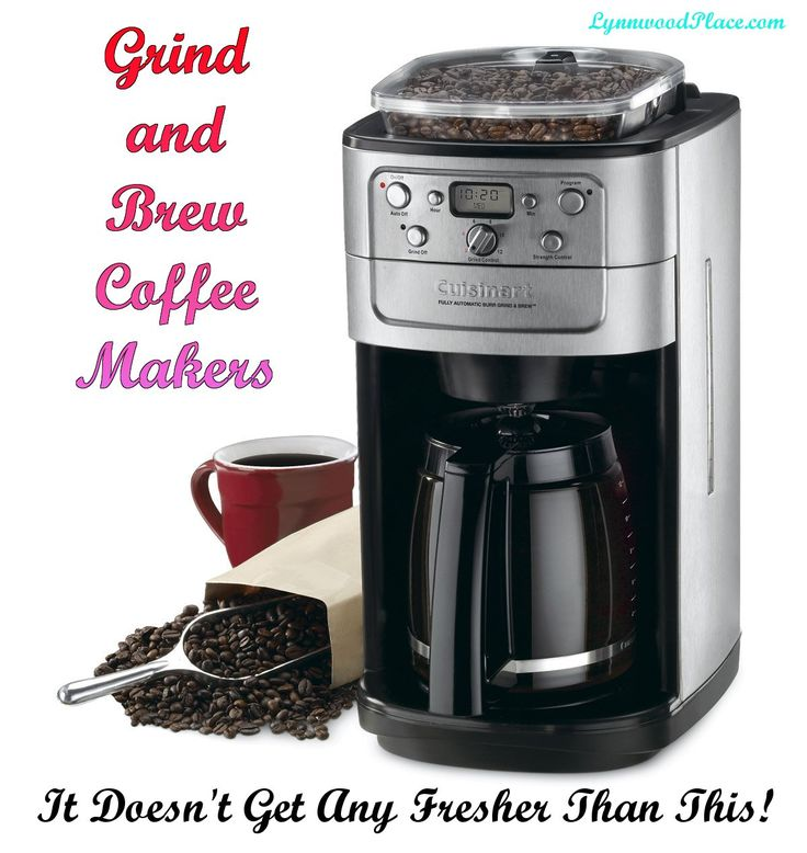 Grind and Brew Coffee Maker in 2020 Best coffee maker