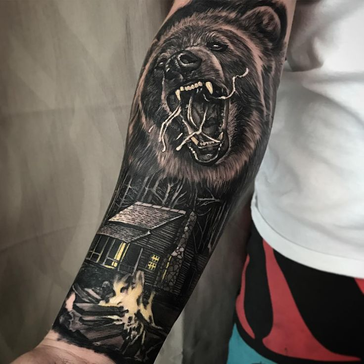 48 best images about bear tattoos design on pinterest geometric bear tattoo rose sleeve. Black Bedroom Furniture Sets. Home Design Ideas
