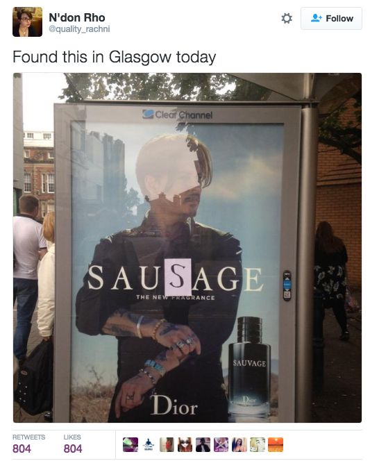 When some vandals got creative: | 26 Times Scottish People Were A Goddamn Gift To The Internet