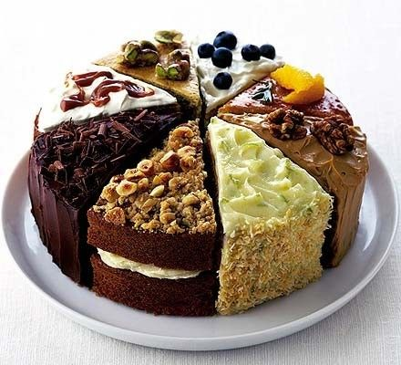Cakes, cakes & more cakes.
