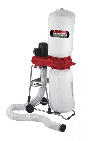 Lumberjack Tools LJ550CDE - Compact Chip and Dust Extractor Woodworking - Dust Extractors