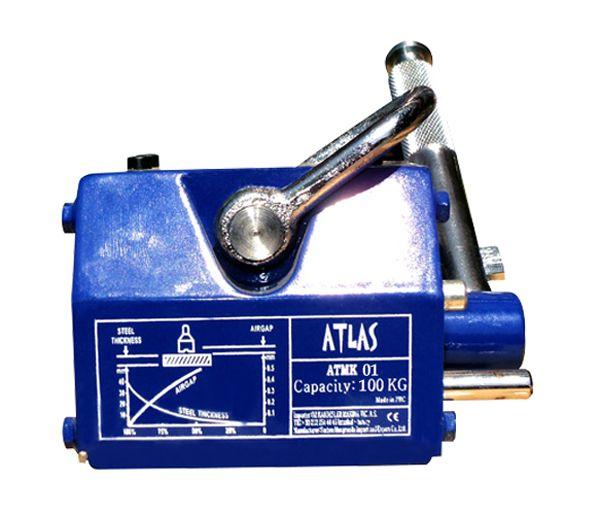 Atlas manyetik kaldıraç atmk 01 model. 100 kg taşıma kapasiteli en küçük manyetik kaldıraç. #atlas #manyetik #lifter #miknatis   http://www.ozkardeslermakina.com/urun/miknatis-yuk-kaldirma-miknatislari-manyetik-kaldirac-atlas-atmk01/