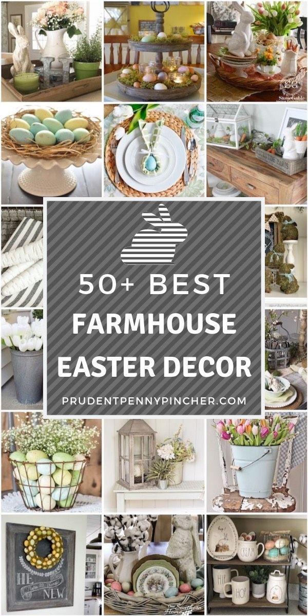 50 Best Diy Farmhouse Easter Decorations Farmhouse Easter Decor