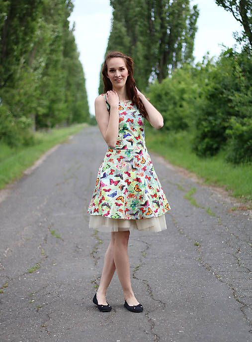 ZuzanaZachar / Šaty s motýlikmi