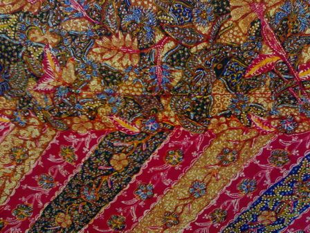 Batik Tiga Negeri,   Batik from Lasem, Pekalongan and Solo,     Java, Indonesia