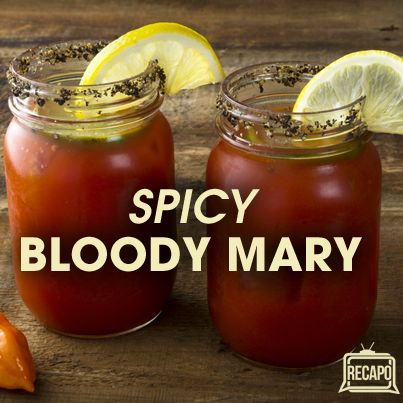 On Rachael Ray August 2 2013, Rachael's husband showed us how to put together a Bloody Mary bar and his rendition of a Bloody Mary Recipe.