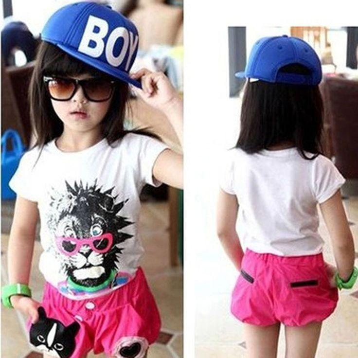 Корейские дети Boy summer sun письмо вс шляпа плашмя вдоль хип-хоп бейсболка открытый детский мальчик в девочке вс hat cap
