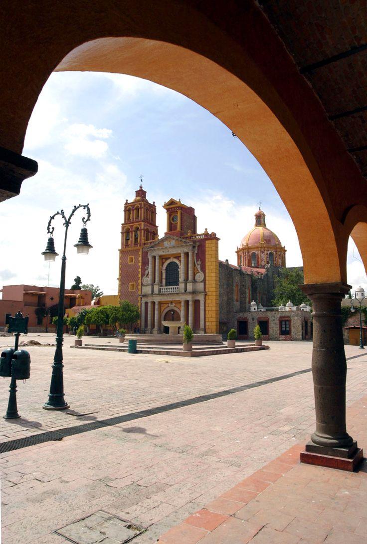 Main plaza, Tequisquiapan, Queretaro, Mexico