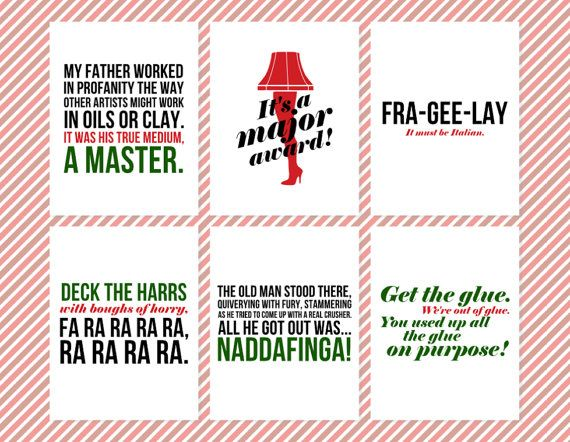 Quotes From A Christmas Story: 17 Best Christmas Movie Quotes On Pinterest
