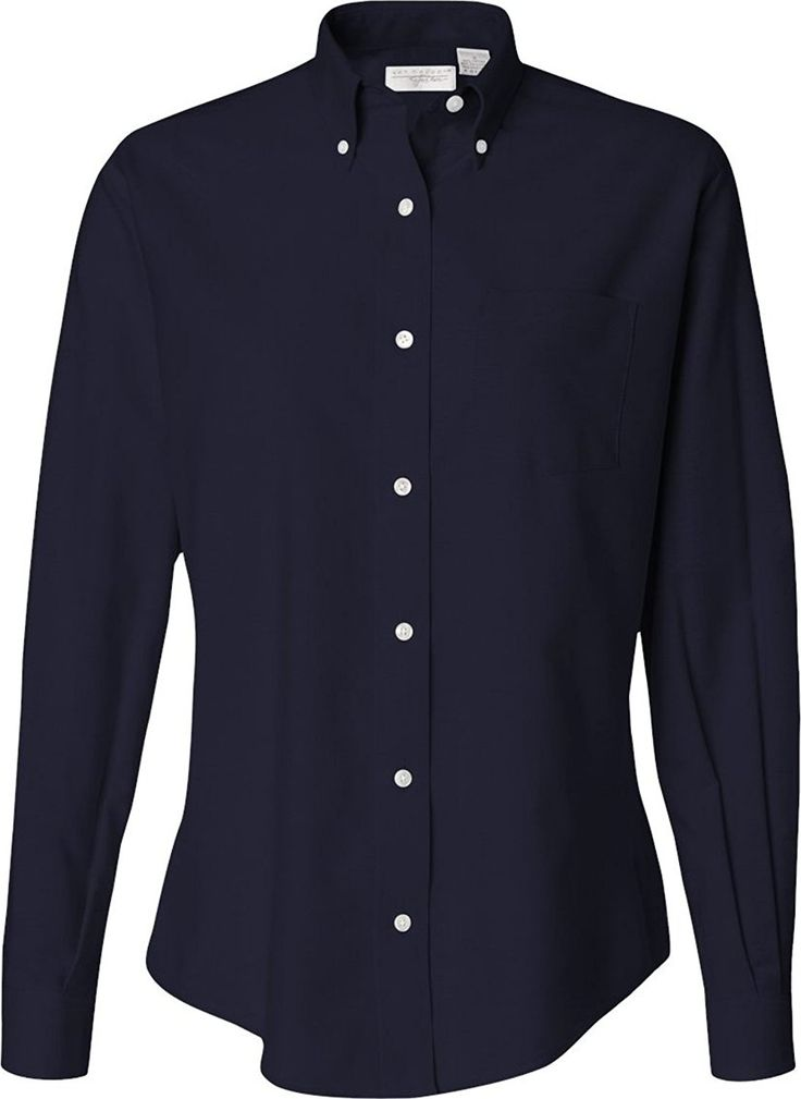 Van Heusen - Women's Oxford Shirt - 13V0002 >>> Check out this great image  : Plus size shirts