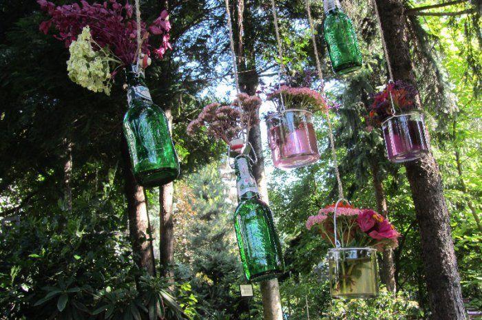 Butelkowe dekoracje