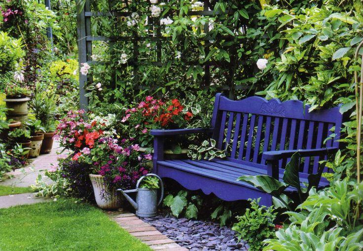 Садовые скамейки: как выбрать, куда поставить | http://idesign.today/landshaftnyj-dizajn/sadovye-skamejki