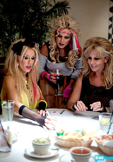 The Real Housewives of Orange County Season 7 - '80s Bunco Party - Photo Gallery - Bravo TV Official Site