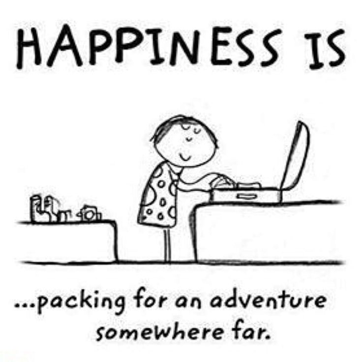 best travel buddy quotes ideas picture of the  happiness is packing for an adventure somewhere far