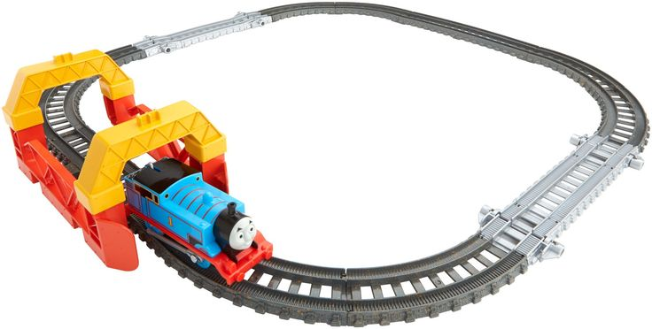 Amazon.com: Fisher-Price Thomas The Train - TrackMaster 2-in-1 Track Builder Set: Toys & Games