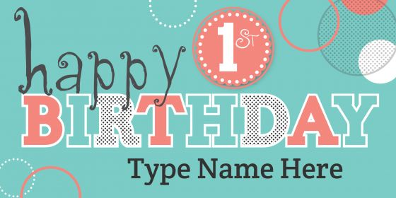 Happy Birthday Quotes Images for 1st Birthday Download