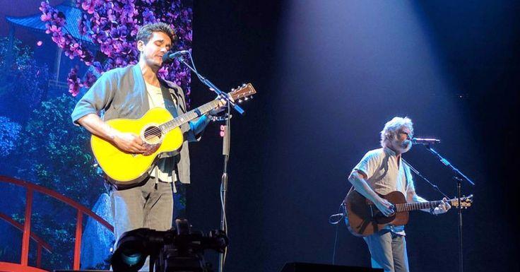 "Watch Bob Weir Join John Mayer for a Beautiful ""Friend of the Devil"" in Sacramento"