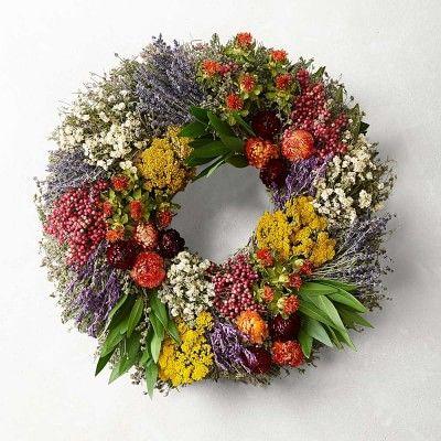 Farmers' Market Herb Wreath #williamssonoma