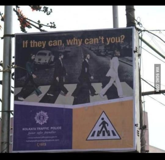 Kolkata Traffic Police in West Bengal, India. | 12 Best/Worst Local Ads Of TheWeek