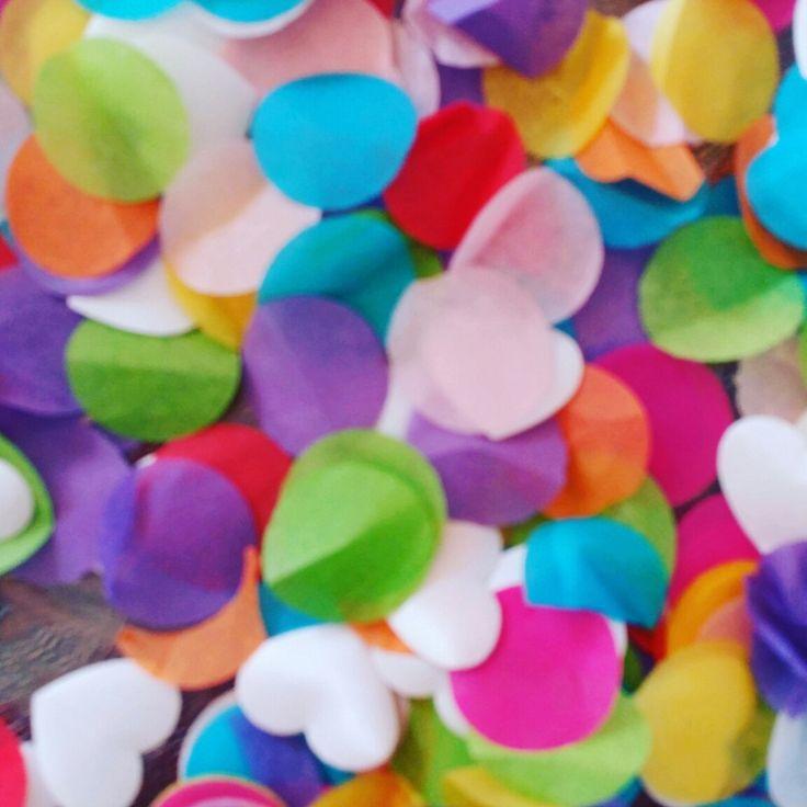 Confetti  voor MIRAN