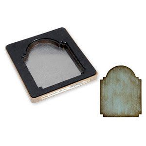 Sizzix - Tim Holtz - Alterations Collection - Movers and Shapers Die - Vintage Cabinet Card