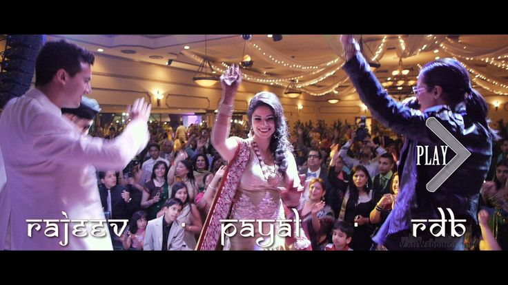The BEST Indian Wedding - Payal & Rajeev in Vancouver + RDB Bollywood Tr...