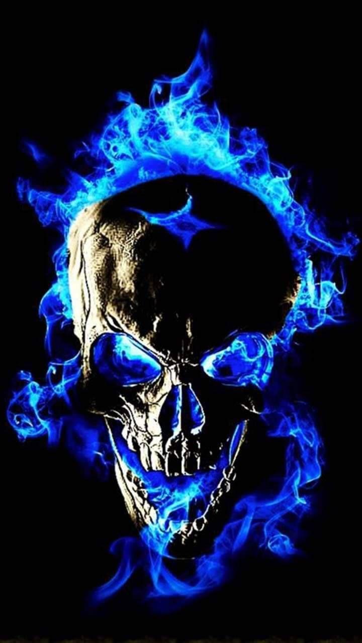 Skulls Wallpaper Skull Wallpaper Ghost Rider Wallpaper Skull Artwork