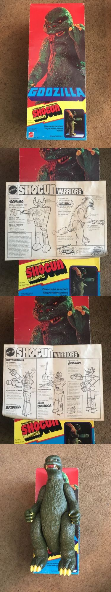 Godzilla 747: Vintage Godzilla Toy 1977 Mattel 19 1 2 No. 2440 -> BUY IT NOW ONLY: $850 on eBay!
