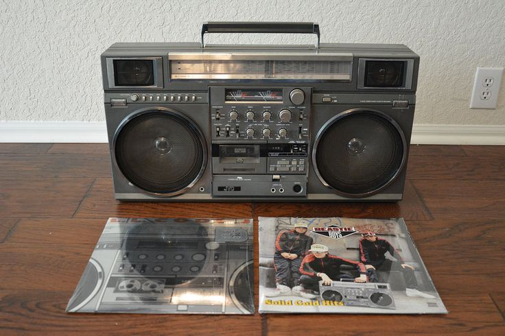 vintage 80s jvc rc m90 rare ghettoblaster boombox boombox audio headphones and electronics. Black Bedroom Furniture Sets. Home Design Ideas