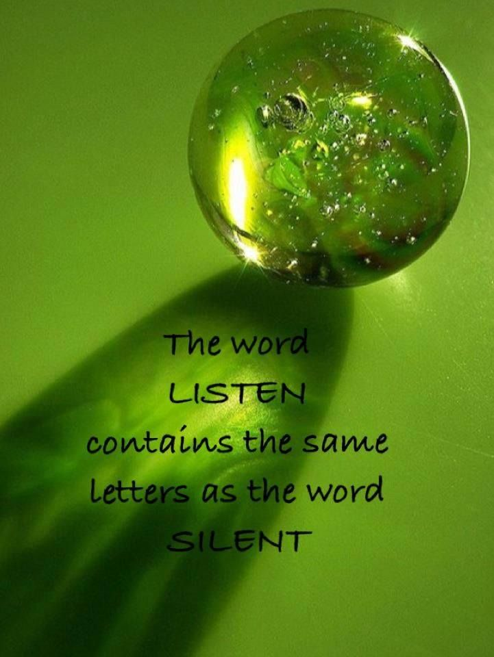 A lost art..............listening.  When you think you have something SO important to say that you must interrupt the person speaking, remember to pause and think......WAIT........ Why Am I Talking? Words to live by :)