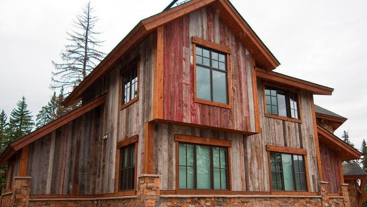 15 best images about siding and color options for ridge for Best wood for board and batten siding