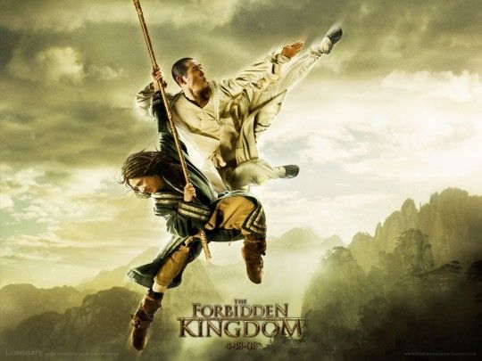 Jackie Chan fights, then joins Jet Li in THE FORBIDDEN KINGDOM. Reviewed from a Latter-day Saint perspective: https://mormonmovieguy.tumblr.com/post/163617930278/the-forbidden-kingdom-mormon-movie-guy-review