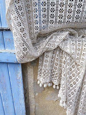 1000 Ideas About Crochet Curtain Pattern On Pinterest