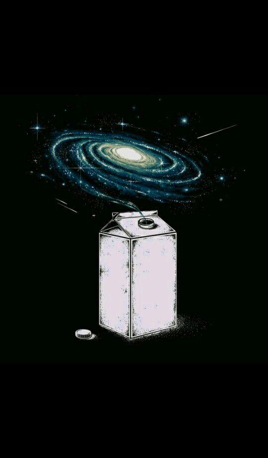 Procurando algo humorado? RS aqui está Wallpaper da nossa galáxia Milk way  (Vialactea)