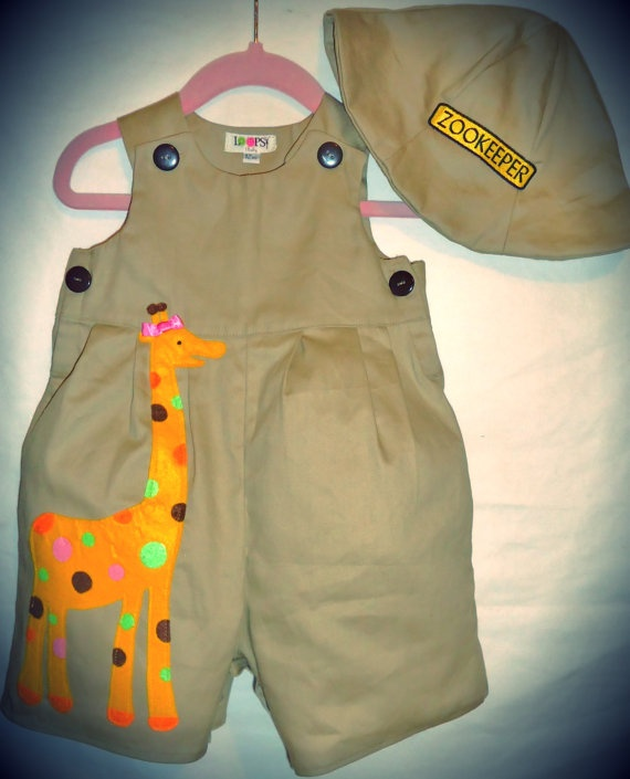 Baby Romper -Zoo Keeper - Safari - Theme Party | To be Rompers and We