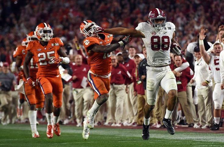 2016 championship game images | National Championship Game, Alabama vs Clemson: Full highlights, final ...