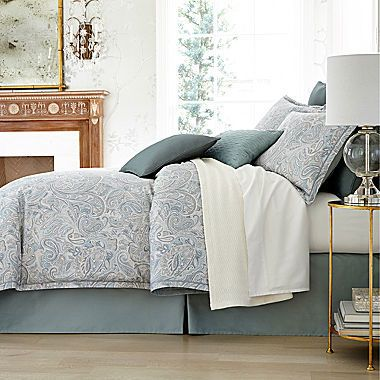 Liz Claiborne Amhurst 4 Pc Paisley Comforter Set
