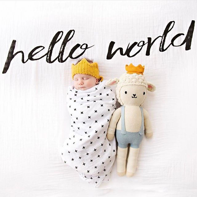 Hello (IG) World! This afternoon we are soaking up all the snuggles from our 5 day old and our toddlers! What are your afternoon plans? : @cuddleandkind