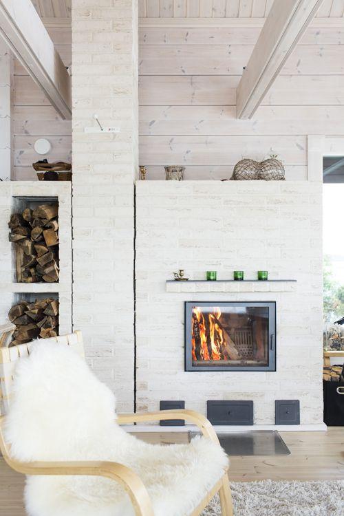 Honka Saari collection. Honka log cabins and holiday homes.