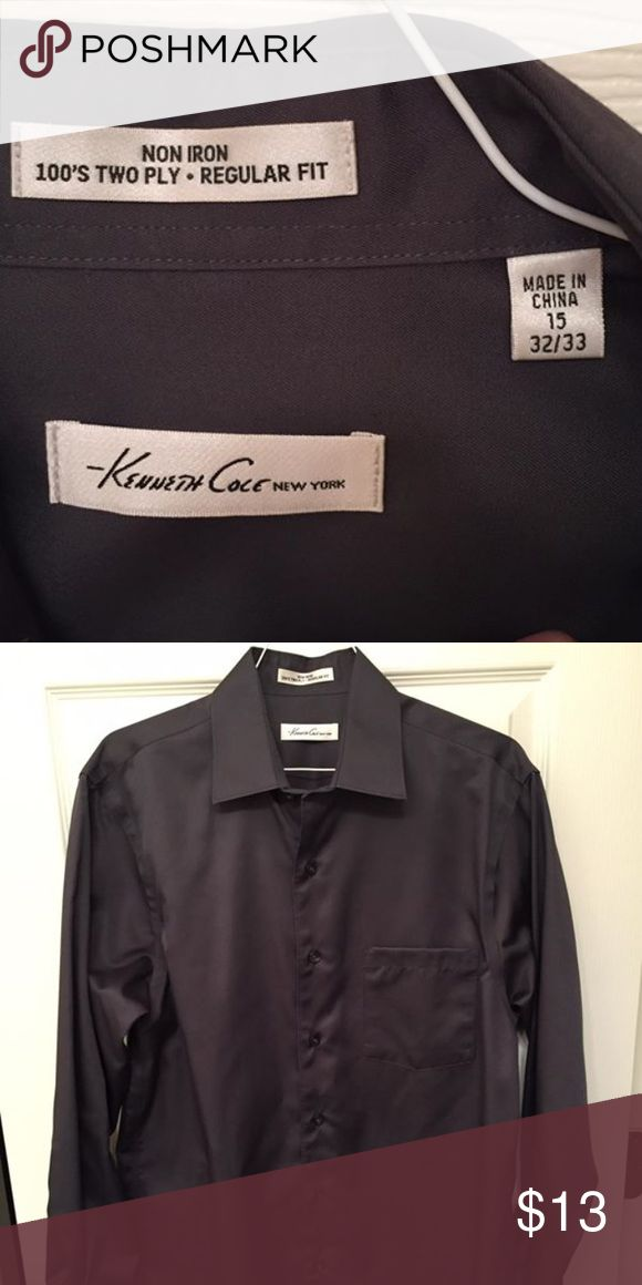 Kenneth Cole Non Iron Dress Shirt Perfect condition. 15 32/33 Kenneth Cole Shirts Dress Shirts