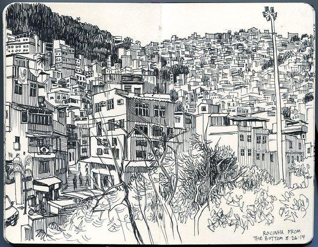 Rocinha Favela, Rio de Janeiro | Paul Heaston