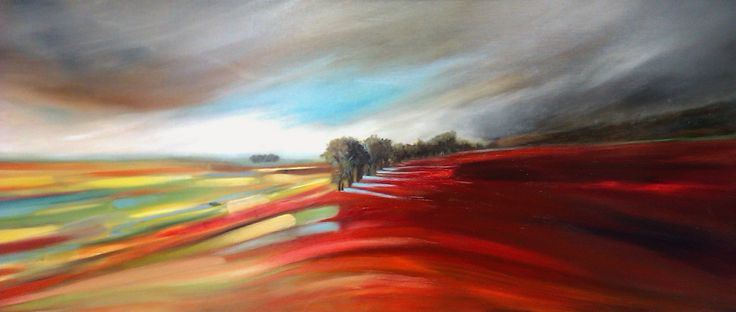Life and Shadow Oil on canvas 40cm x 100cm