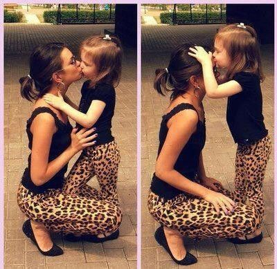 Pin by Sidney Lxxx on Leopard print | Mother daughter